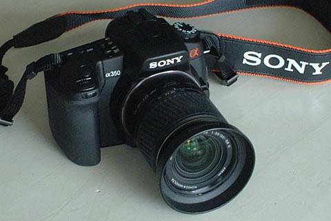 SONY α350